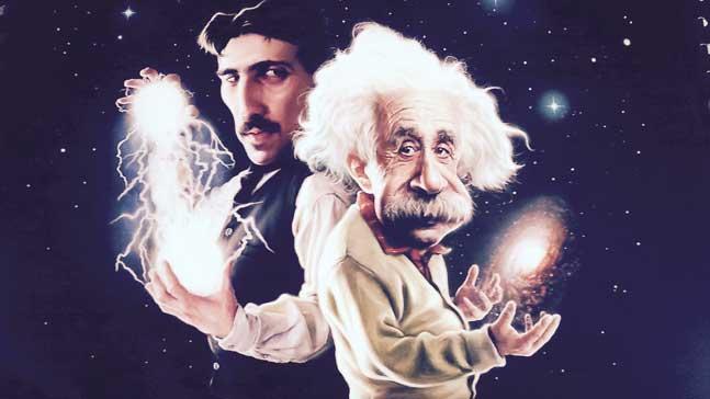 Tesla y Einstein, creando innovadores