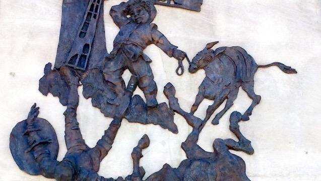 fracasar, Don Quijote y Sancho por los suelos