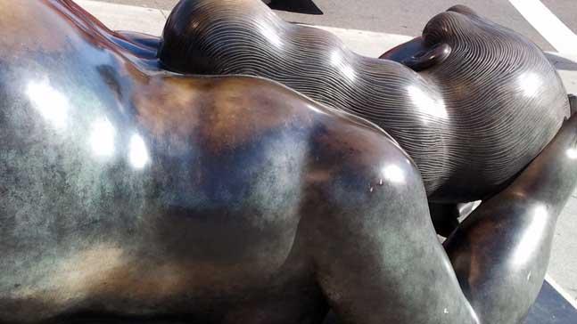 mitos-escultura de Botero en Madrid
