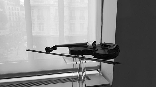 violin en la ventara, inspiración, la llama que enciende el alma