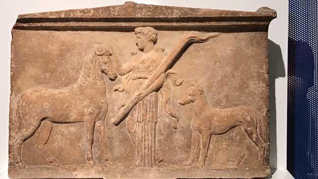 mito y storytelling, escultura que representa un mito