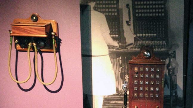 tecnologia, vida cotidiana y presencia, antigua central telefónica