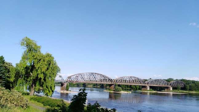 Torun, puente sobre el Vístula