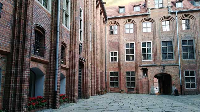 Torun, patio interior ayuntamiento