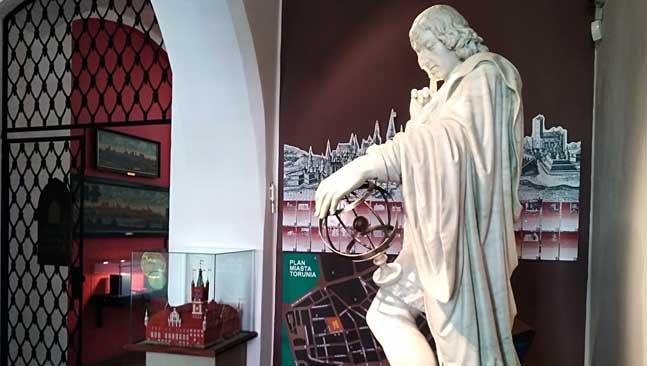 Torun, efigie Copernico