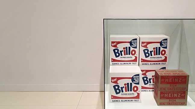 storybrand, marcas en la exposicion de Andy Warhol