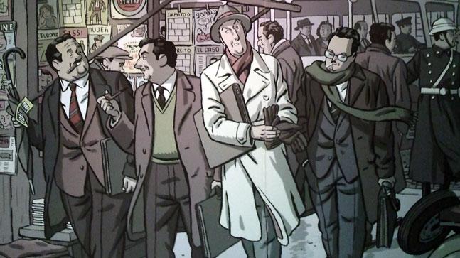 comic de Paco Roca, lo que contamos