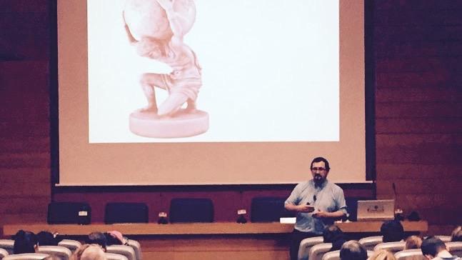 David Anton en clase- contar-historias