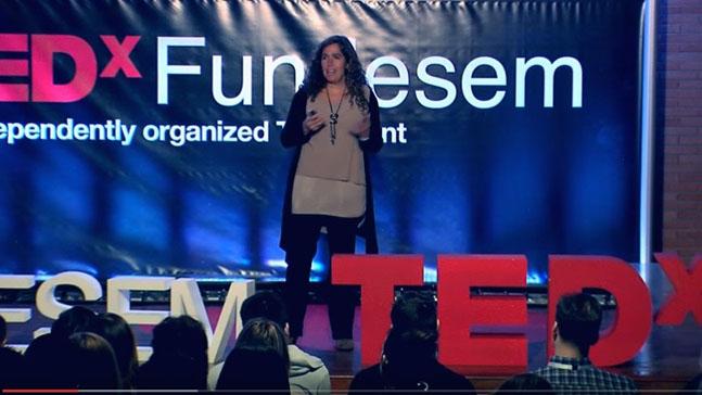 natalia gomez del pozuelo, charla TED