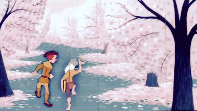 contar bien una historia, bosque misterioso