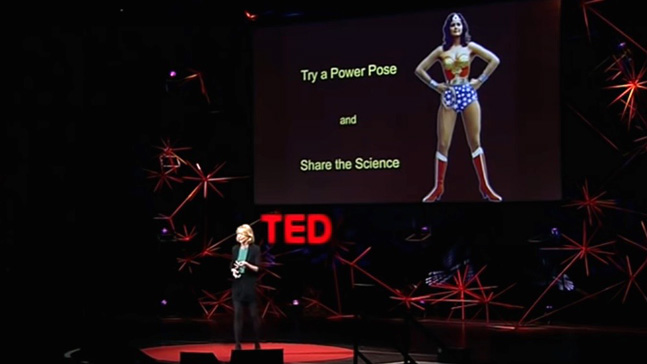 autoestima, Amy Cuddy y super woman