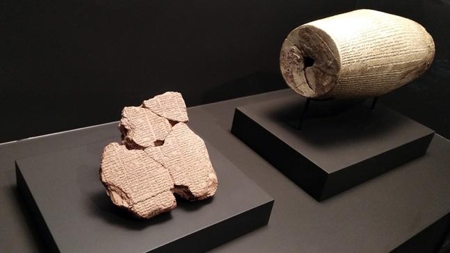 el poder de las historias-tablillas arcilla escritura cuneiforme