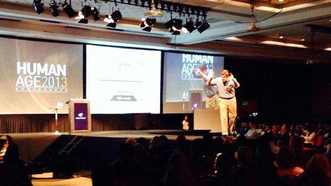 Borja Milans del Bosch en una conferencia