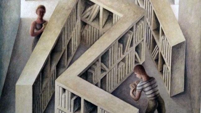 brújula directiva: 25 horizontes- laberinto de libros