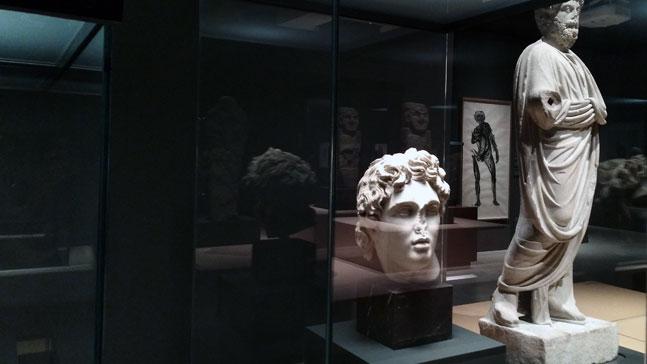 David Hernández de la Fuente, escultura de rostro y figura
