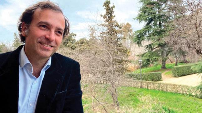 David Hernández de la Fuente en su despacho